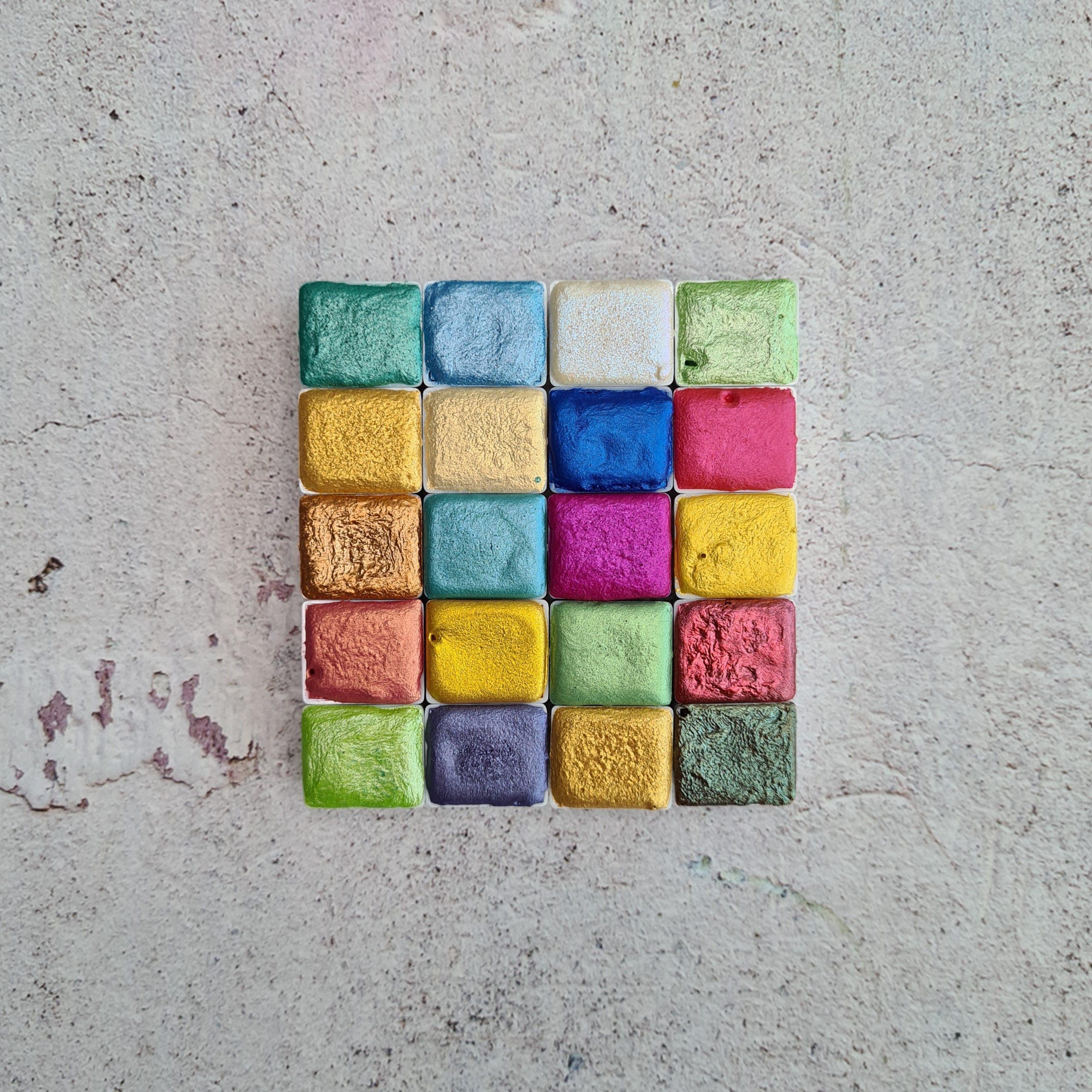 Farba akwarelowa HALF PAN